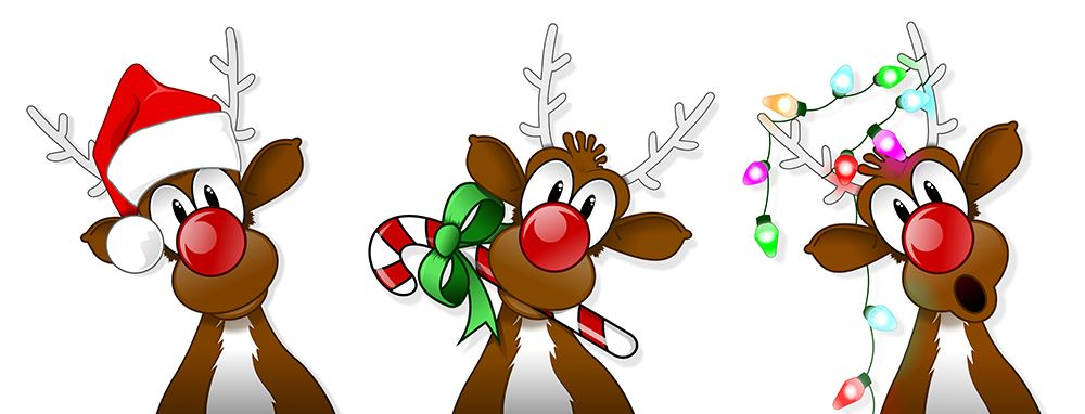 fresno women s network fwn christmas luncheon whimsical reindeer clipart christmas reindeer clipart free
